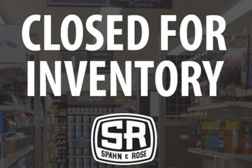 ANNUAL INVENTORY SCHEDULE ANNOUNCED