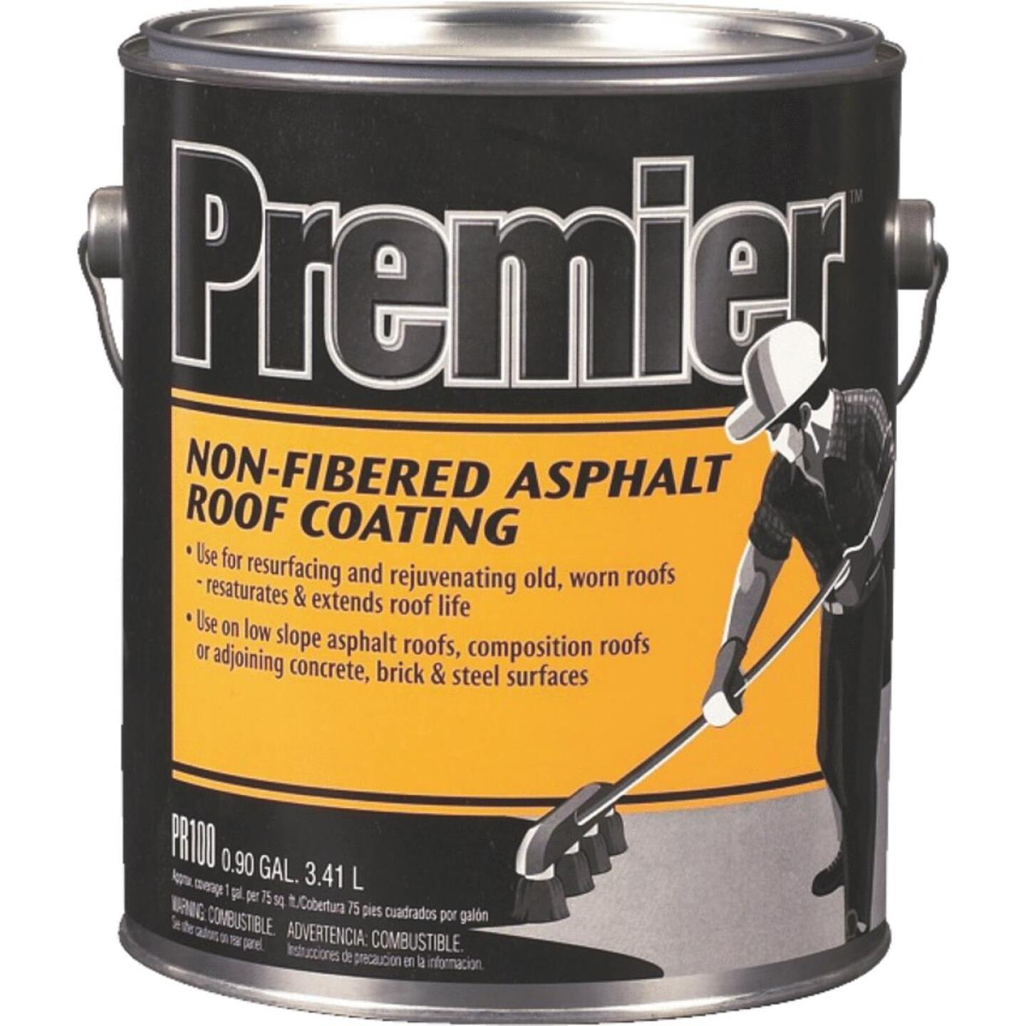 Premier 1 Gal. Non-Fibered Asphalt Roof Coating Image 1