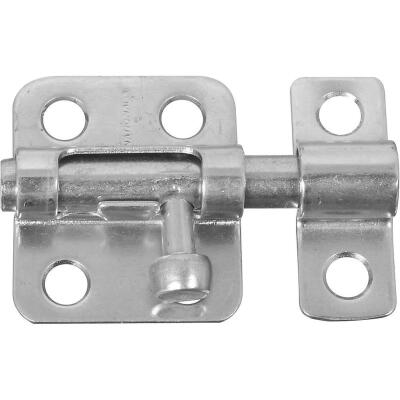 National 2 In. Zinc Cellar Window Barrel Bolt