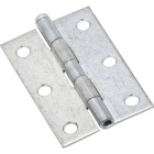 National 3 In. Zinc Loose-Pin Narrow Hinge (2-Pack) Image 1