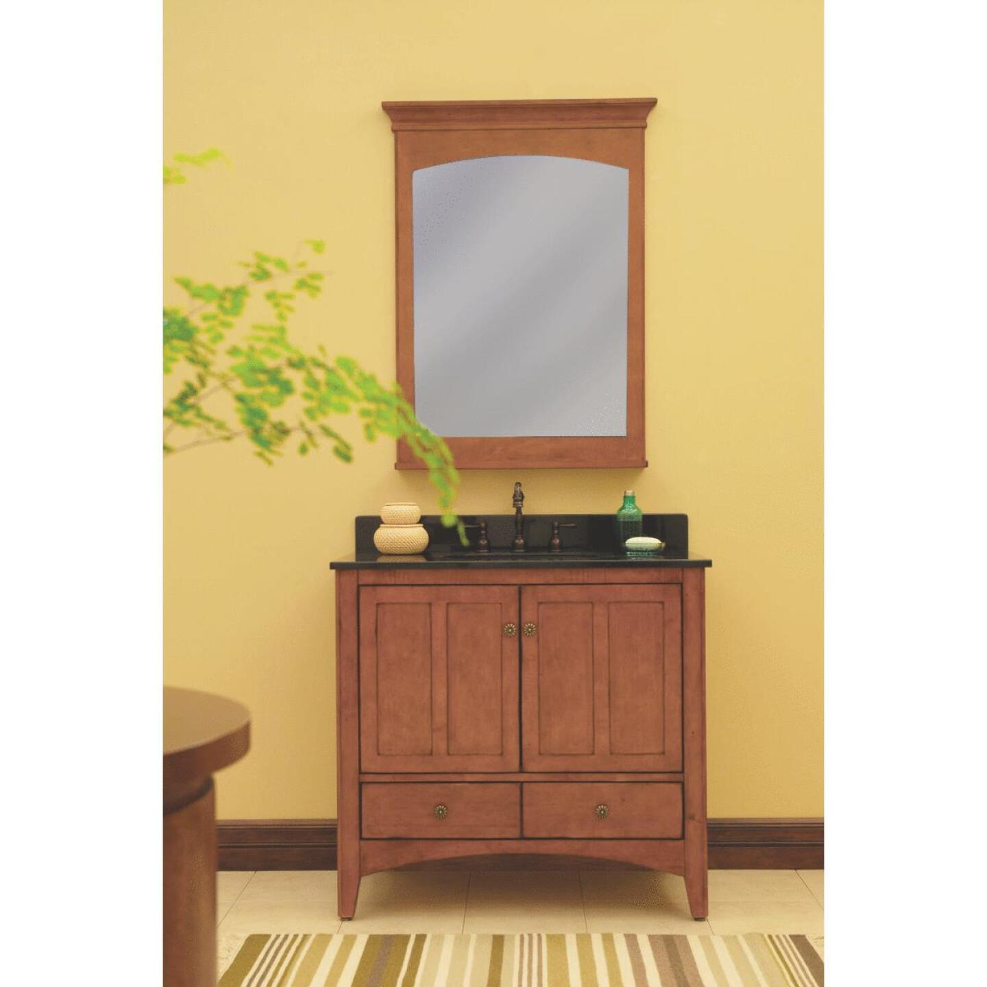 Sunny Wood Expressions Warm Cinnamon 30 In. W x 34 In. H x 21-1/4 In. D Vanity Base, 2 Door/1 Drawer Image 2
