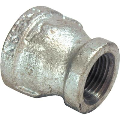Southland 1/4 In. x 1/8 In. FPT Reducing Galvanized Coupling