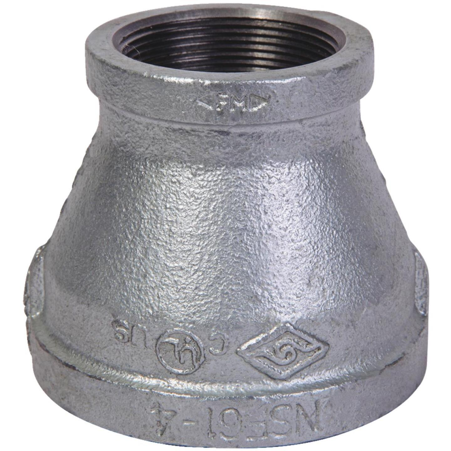 Southland 1-1/4 In. x 3/4 In. FPT Reducing Galvanized Coupling Image 1