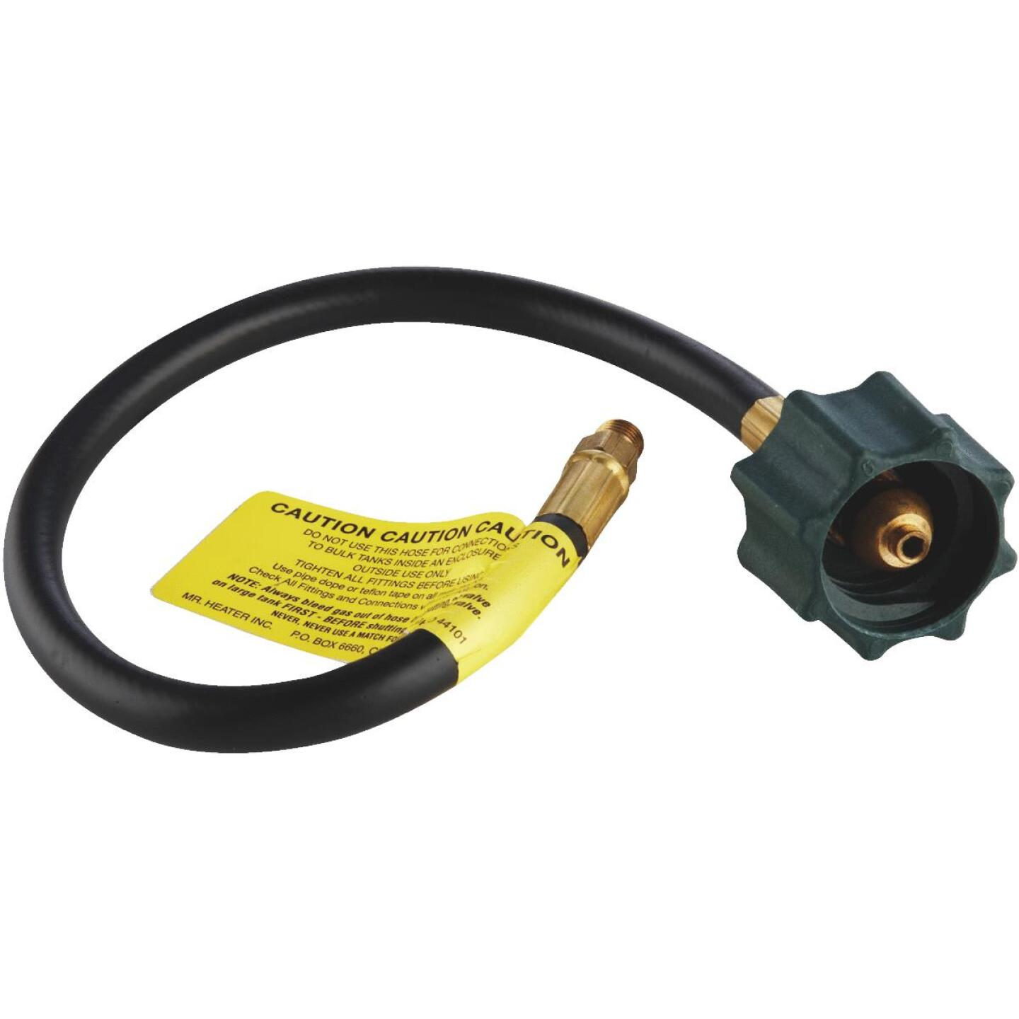 MR. HEATER 18 In. x 1/4 In. Inverted Male Flare x 3/8 In. Acme Nut LP Hose Assembly Image 1