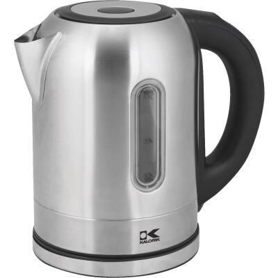 Kalorik 7 Cup Stainless Steel Color Changing LED Electric Kettle
