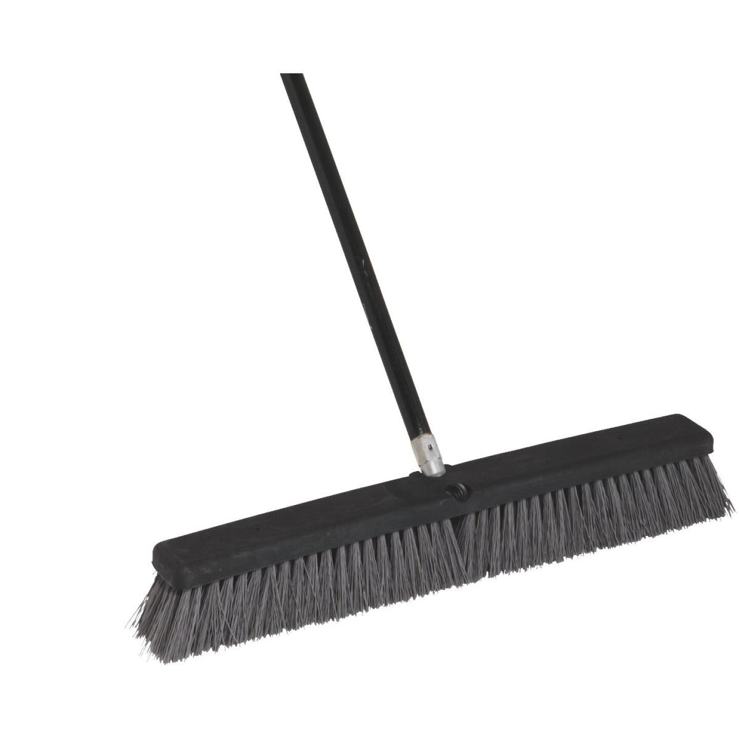 Do it Best 24 In. W. x 60 In. L. Metal Handle Heavy-Duty Synthetic Sweep Push Broom Image 1
