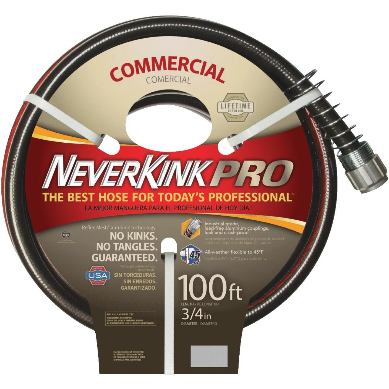 Neverkink Pro 3/4 In. Dia. x 100 Ft. L. Commercial Garden Hose Image 1