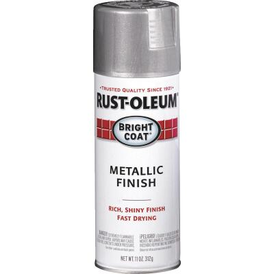 Rust-Oleum Bright Coat Bright Aluminum Gloss 11 Oz. Anti-Rust Spray Paint
